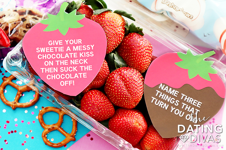 Flirty game printables to play on your chocolate fondue date | The Dating Divas