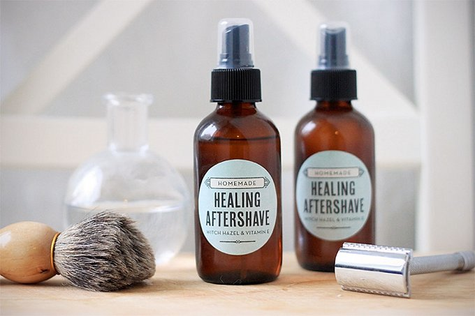 Homemade aftershave bottles for the man who has everything | The Dating Divas
