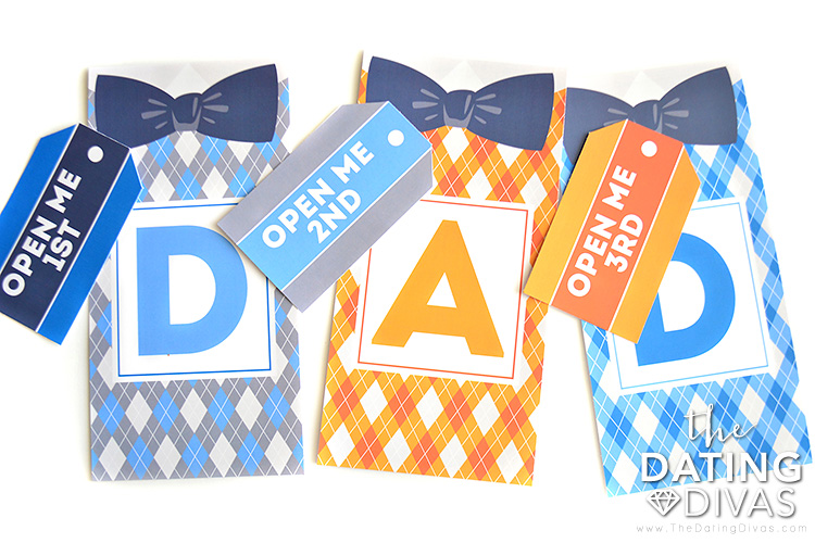 Father's Day bags filled with thoughtful gifts for dads | The Dating Divas