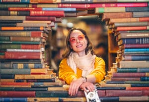 The Last bookstore is perfect for date night.   The Dating Diva