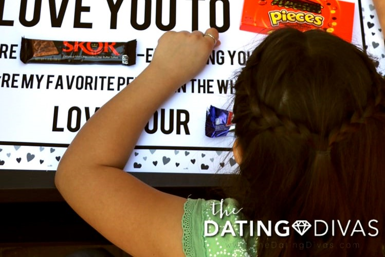 Candy poster gift for the man who has everything | The Dating Divas