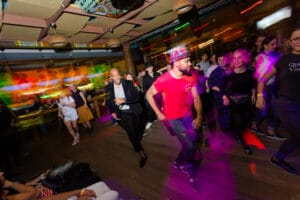 People salsa dancing for a perfect date night idea.   The Dating Diva