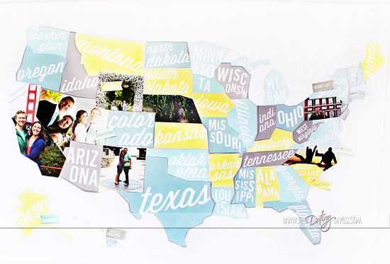 DIY travel map for the man who has everything | The Dating Divas