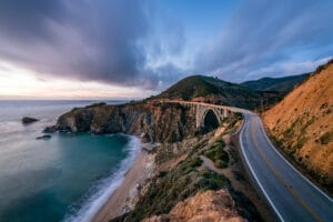 Free date idea driving along Pacific Coast Highway.   The Dating Diva