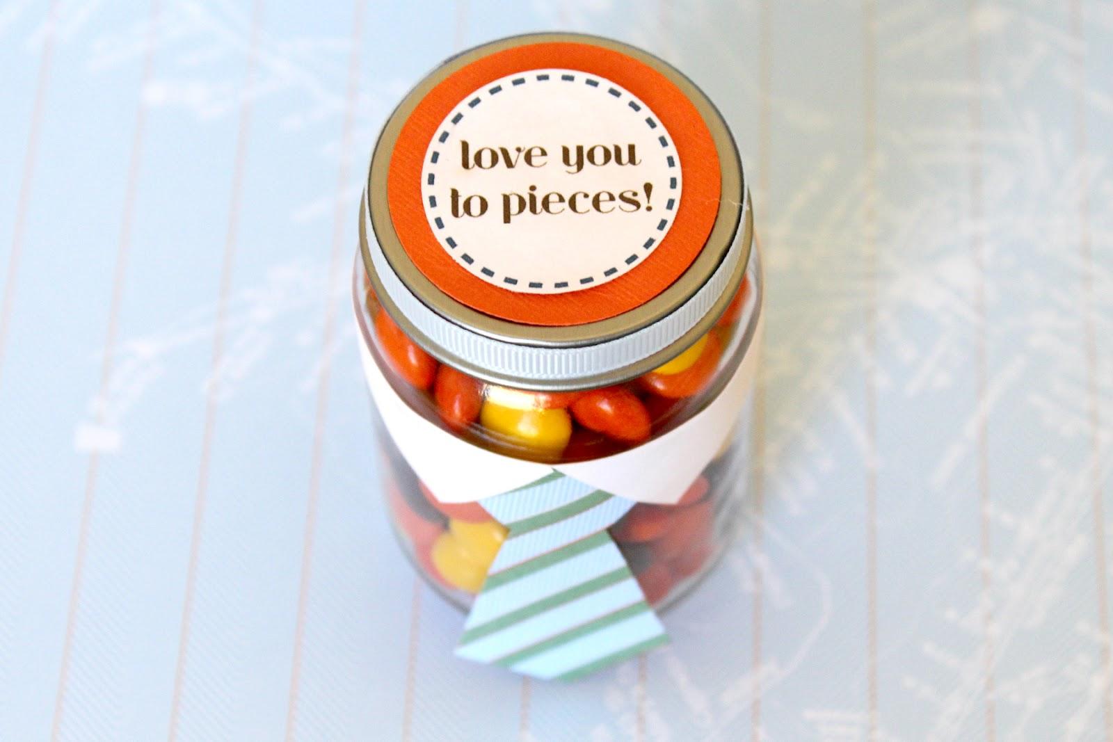 A candy jar gift idea | The Dating Divas