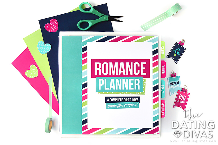 Binder full of romantic ideas to gift the impossible man | The Dating Divas