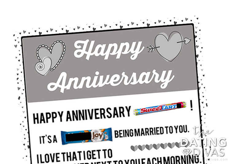 Anniversary gift by year - year 6 | The Dating Divas