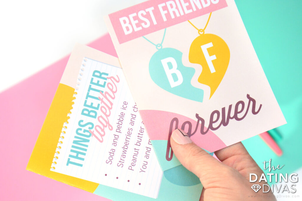 Give a sweet note this Best Friends Day. | The Dating Divas