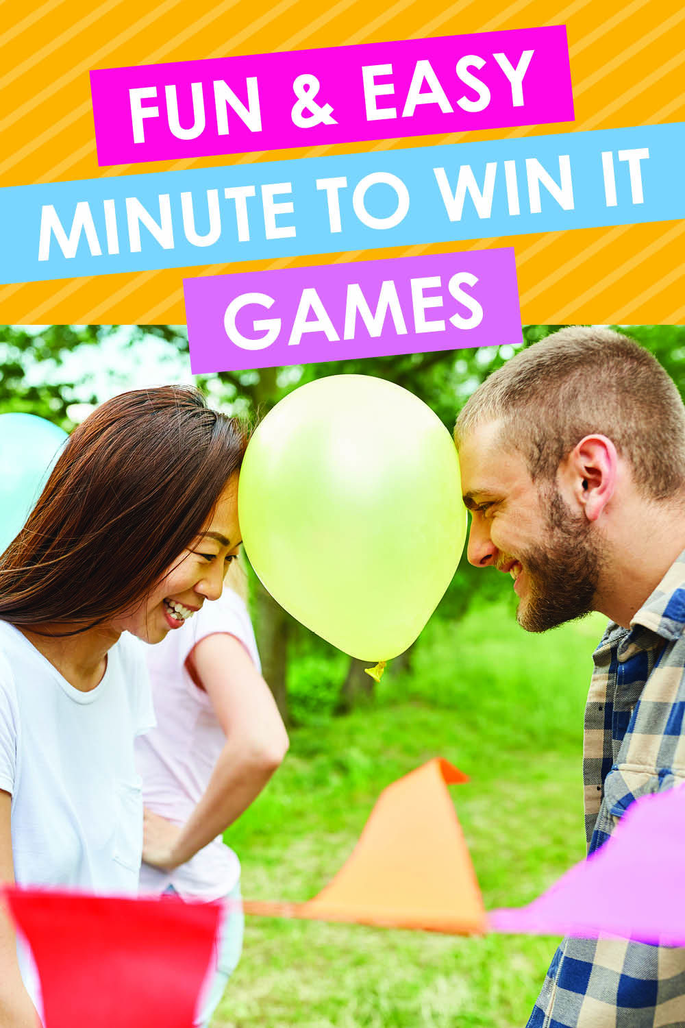 These easy Minute to Win it Games look sooo fun! Definitely pinning!! #datingdivas #easyminutetowinitgames #minutetowinitchallenges