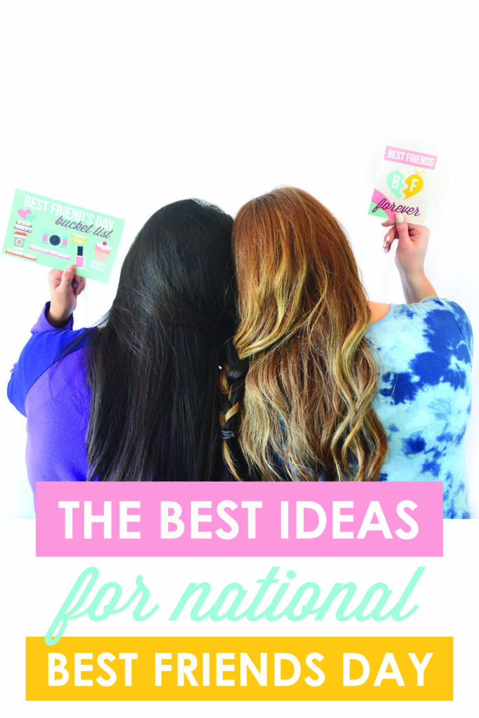 My bestie and I love celebrating National Best Friends Day! These are the perfect ideas for it from www.TheDatingDivas.com #NationalBestFriendsDay #BestFriendsDay