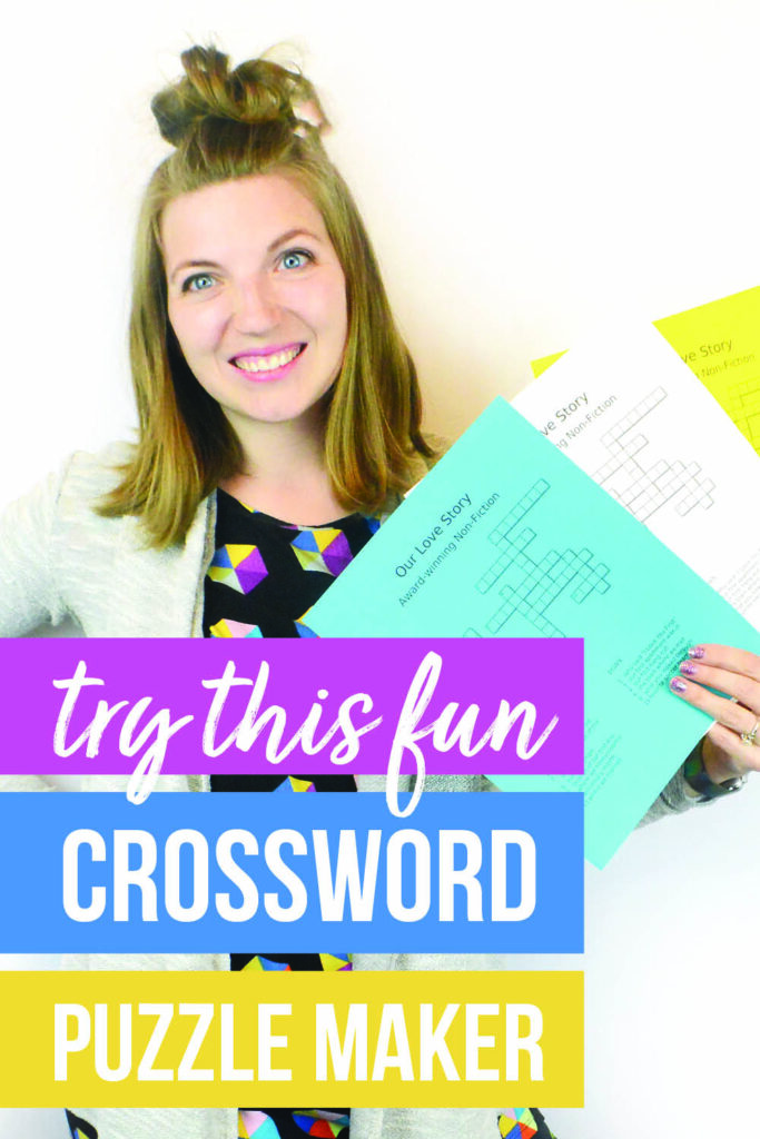 I can't WAIT to use this crossword puzzle maker with my sweetie! :) #datingdivas #crosswordpuzzlemaker #makeyourowncrosswordpuzzle