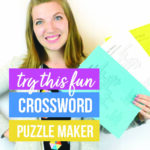 Use This Crossword Puzzle Maker for an Easy Gift Idea