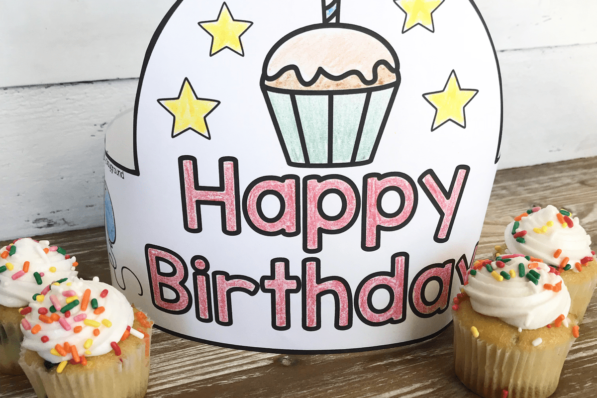 Birthday crown for preschoolers and toddlers | The Dating Divas