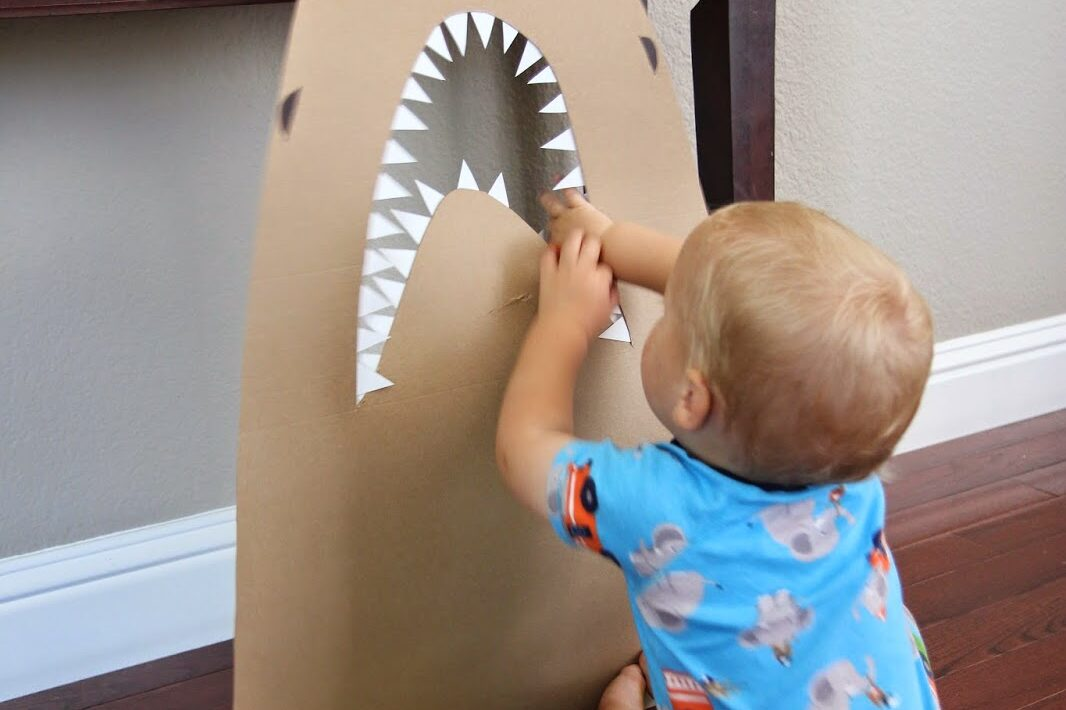Feed the shark preschool activities to help with reading | The Dating Divas