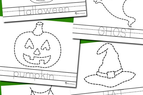 Halloween tracing preschool worksheets | The Dating Divas