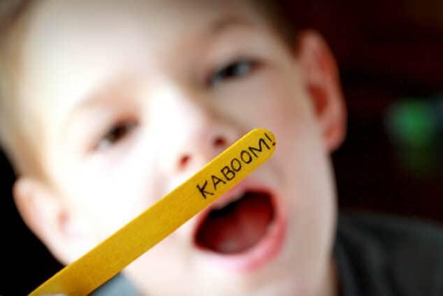 Alphabet Kaboom preschool activities at home | The Dating Divas