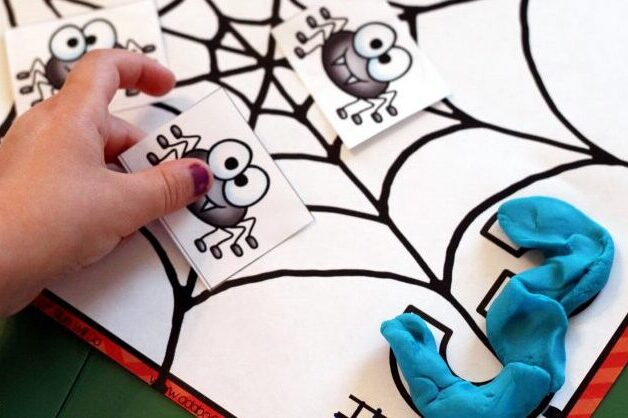 Spider counting preschool worksheets | The Dating Divas