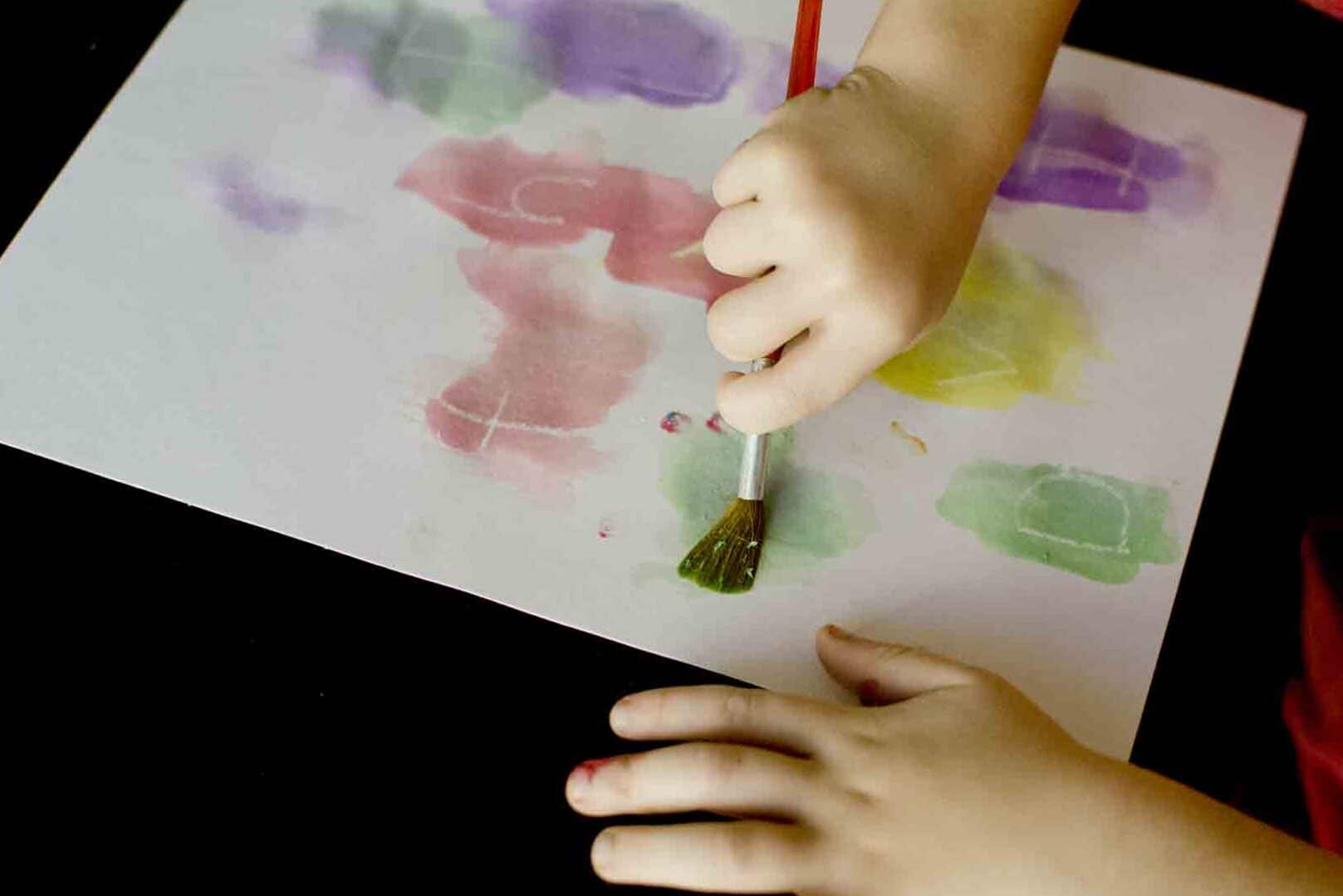 Disappearing letters toddler activities | The Dating Divas