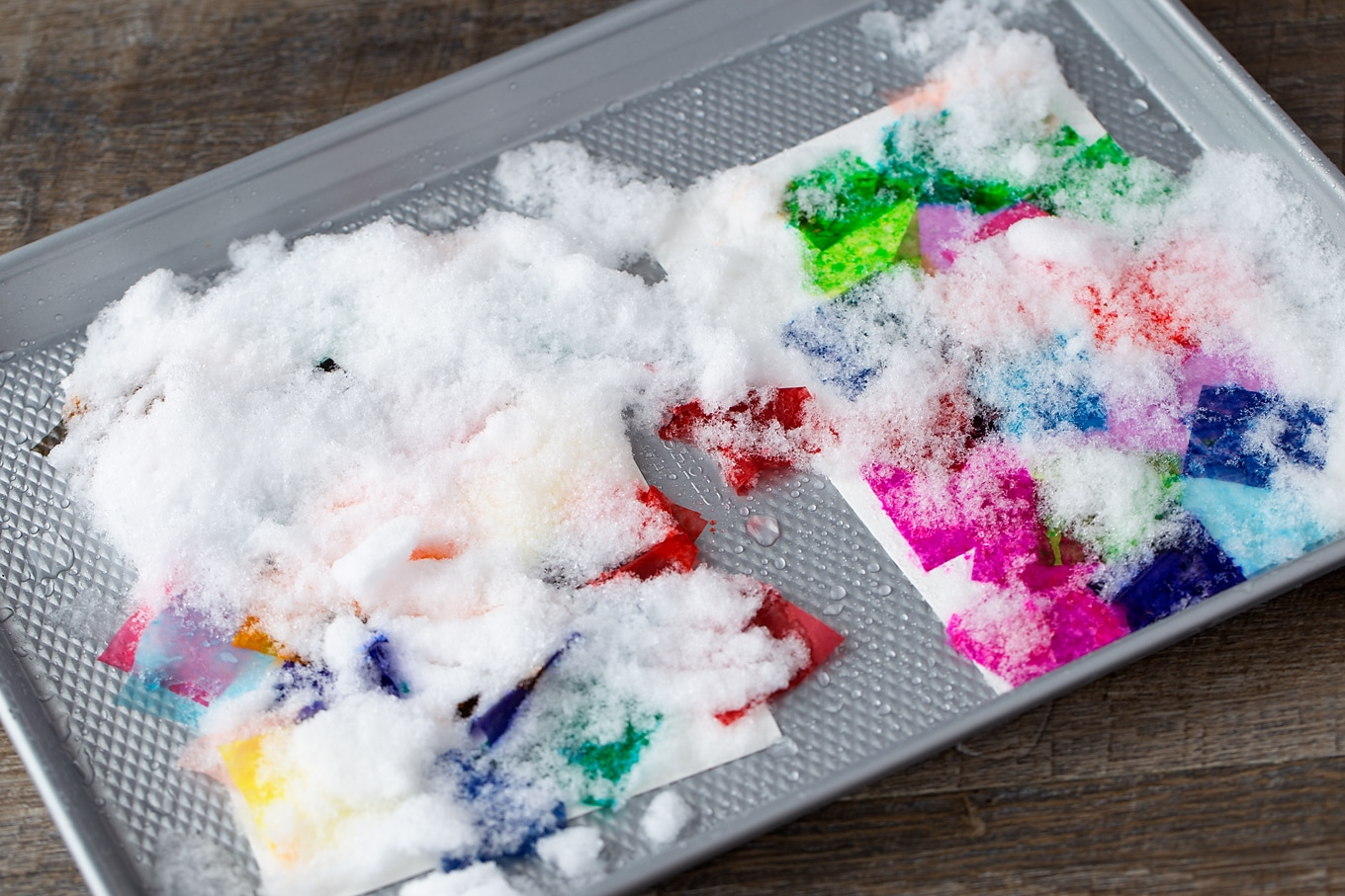 Snowy day toddler activities at home | The Dating Divas
