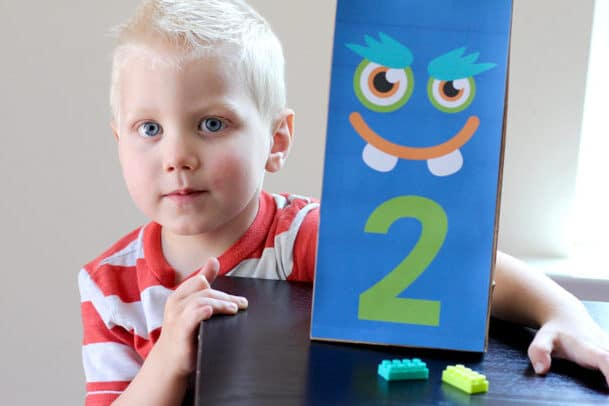 Monster counting toddler activities | The Dating Divas
