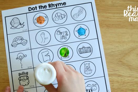 Rhyming printable preschool worksheets | The Dating Divas