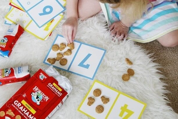 Cookie count printable preschool worksheets | The Dating Divas