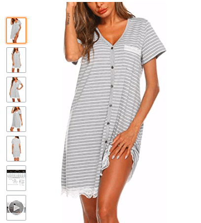 Lacy nightgown pajama sets | The Dating Divas
