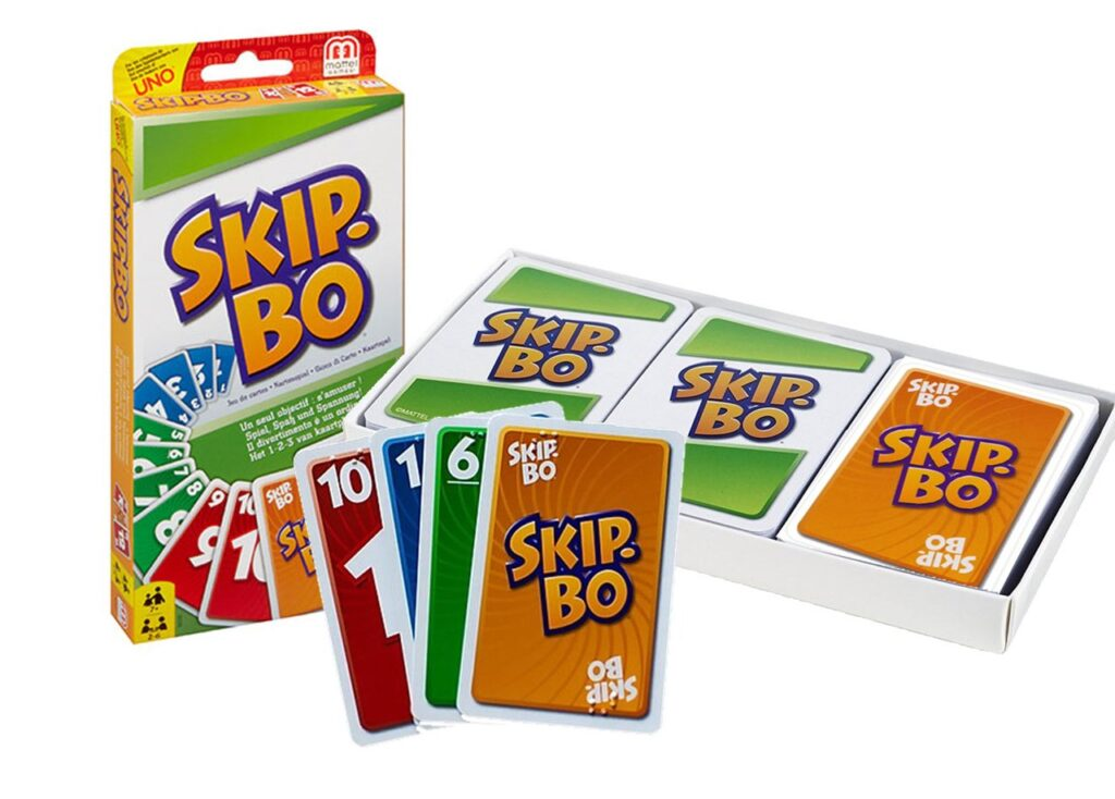 Skip-bo card game for date night with your spouse | The Dating Divas