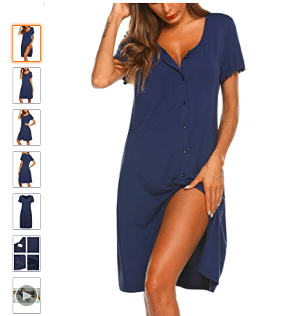 Sexy pajamas that are modest nightgowns | The Dating Divas