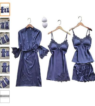 Pajama set with robe, nightgown, cami tank and short pajamas | The Dating Divas