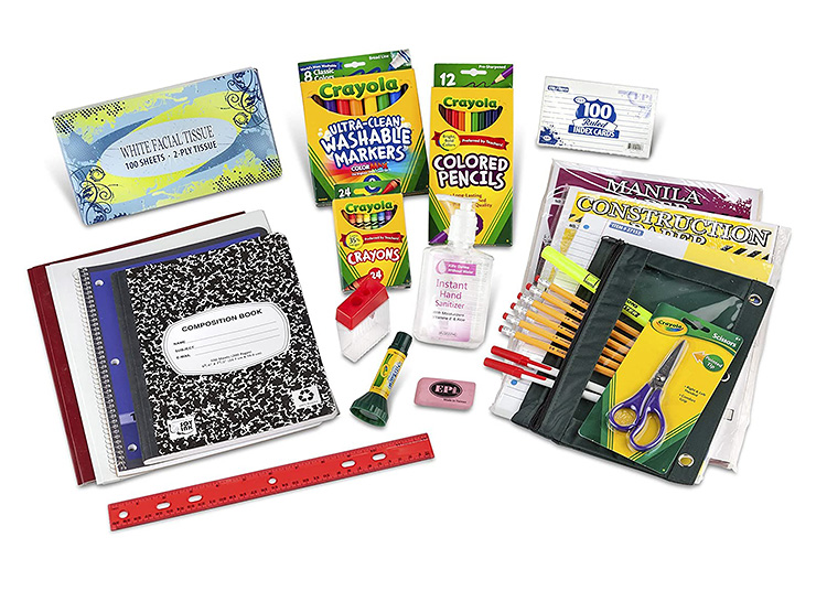 Check off each item on your 1st or 2nd grade supply list with this one-stop-shop supply pack.   The Dating Divas