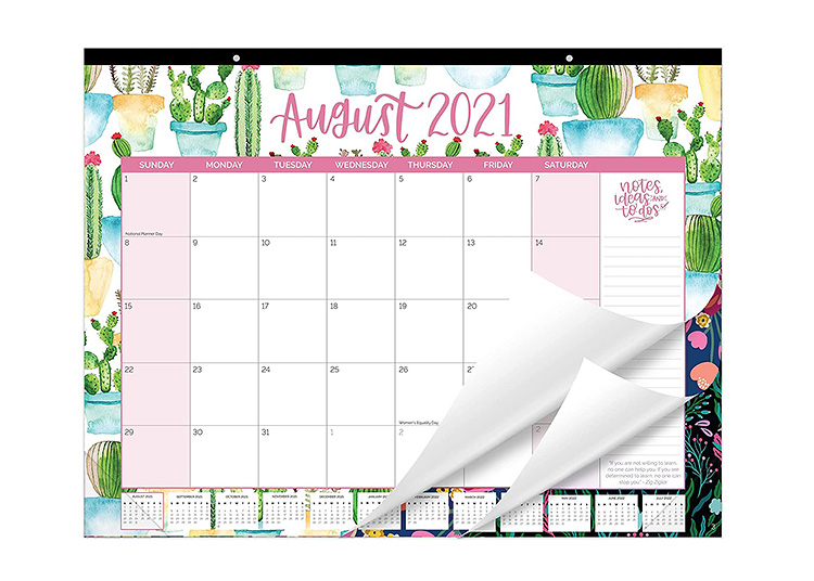 This desk or wall calendar is one of our must-have back to school supplies.   The Dating Divas