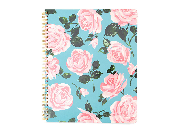 Back to school supplies can be beautiful too, just like this floral notebook.   The Dating Divas
