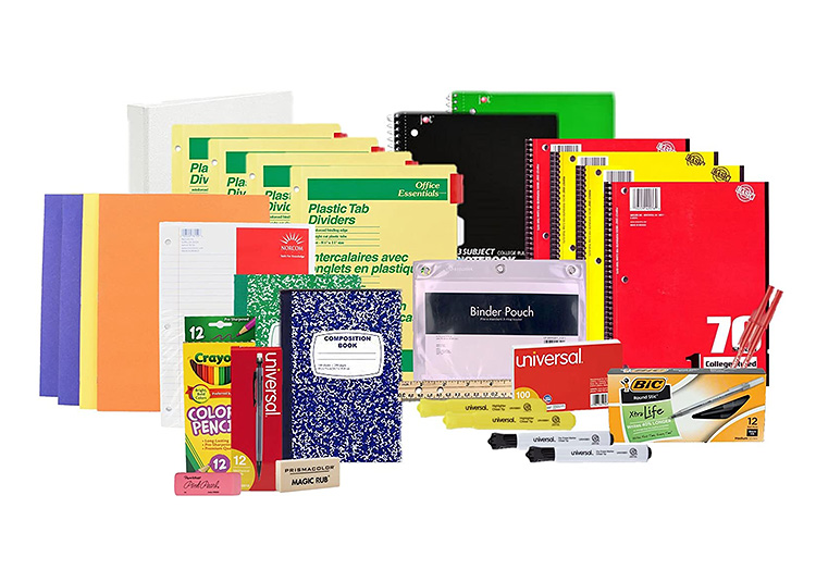 Get ready for high school or college with this easy to purchase supply pack.   The Dating Divas