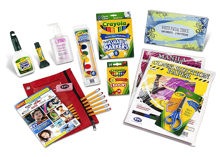 Back to School shopping made easy with a Kindergarten Pack.   The Dating Divas