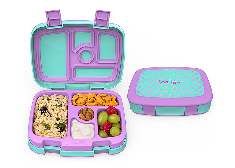 A bento lunch box that has seals to keep liquid from dripping is a must.   The Dating Diva