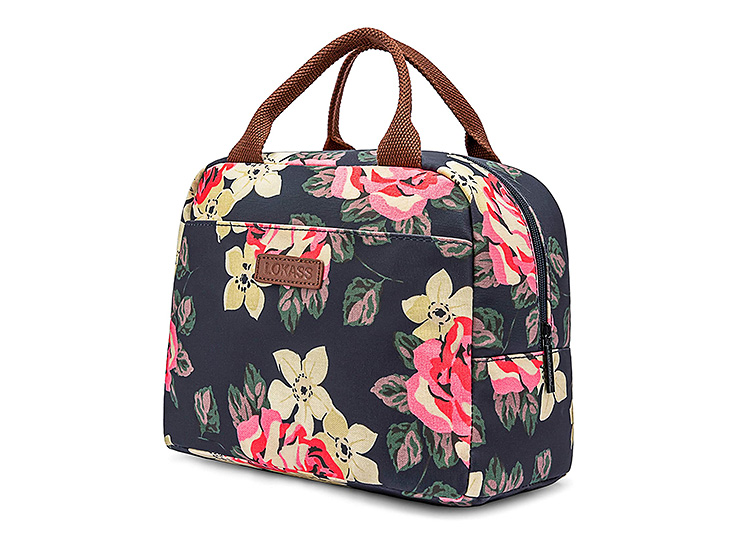 Back to school supplies don't have to be primary colors. This floral lunchbox works for kids of all ages.   The Dating Divas