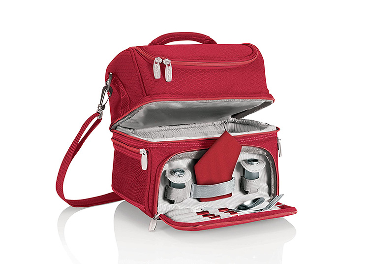 Never be unprepared with this lunch box tote.   The Dating Divas