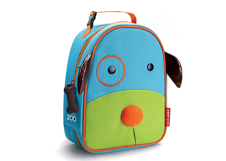A kid-friendly lunchbox in the shape of man's best friend.   The Dating Divas