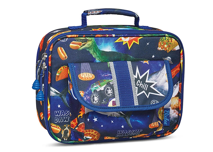 A fun, printed lunchbox should be on the top of your back to school supply list.   The Dating Divas