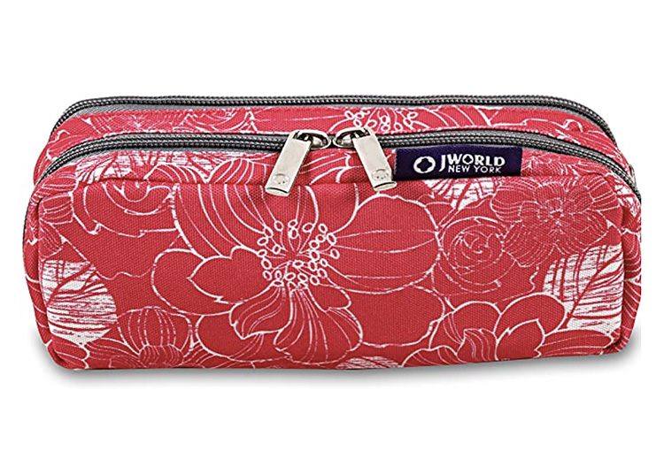Put all of your back to school supplies in this 2-sided pencil pouch.   The Dating Divas