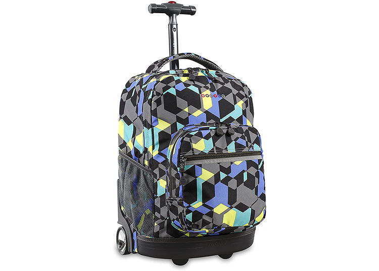 For large campuses or small students, the rolling backpack can help cover some ground.   The Dating Divas