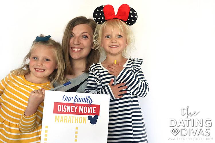 Enjoy a Disney family movie marathon. | The Dating Divas