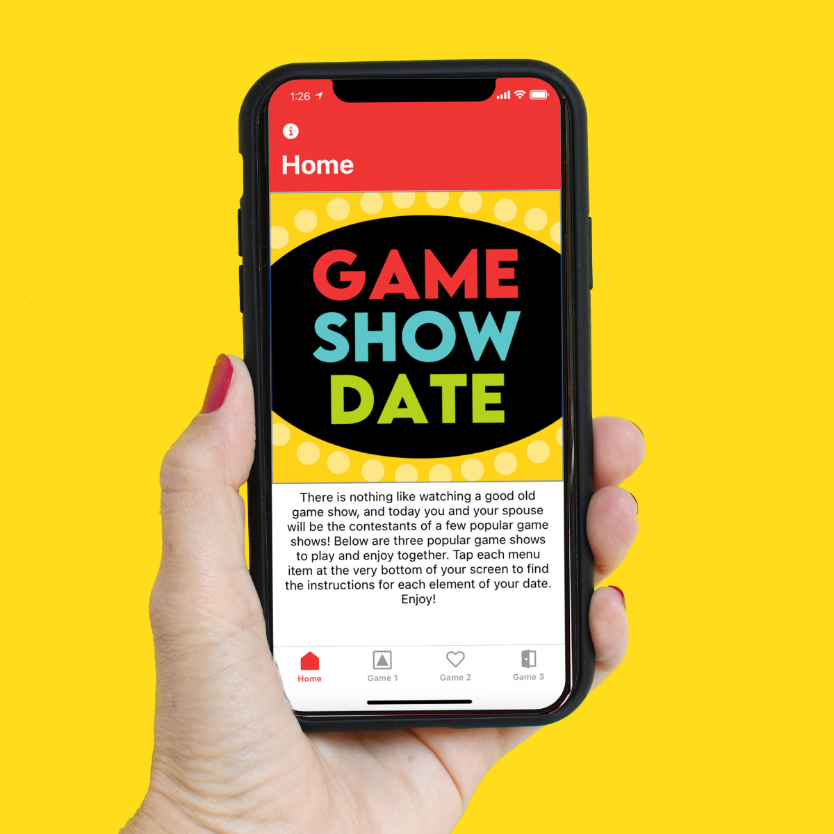 One of the Pick Your Date Adventure Date Nights is a Game Show Date. | The Dating Divas