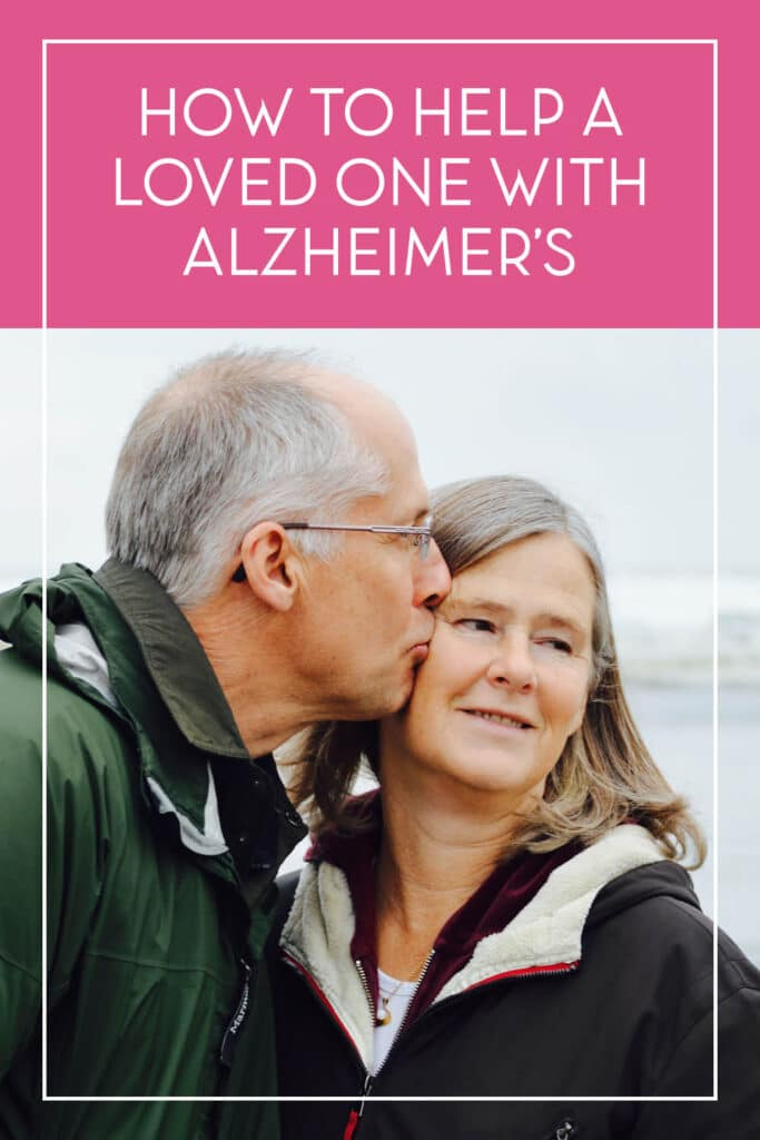 These tips and ideas are SO helpful for caring for a loved one with Alzheimer's! #Alzheimers #DealingwithAlzheimers