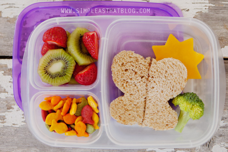 Butterfly sandwich for school lunch   The Dating Divas