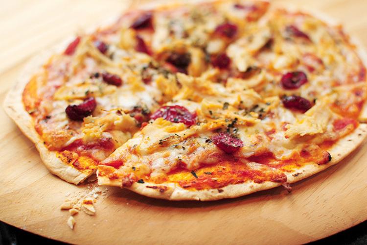 Tortilla, cracker pizza   The Dating Divas