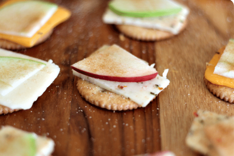 Apples, cheese, and crackers   The Dating Divas