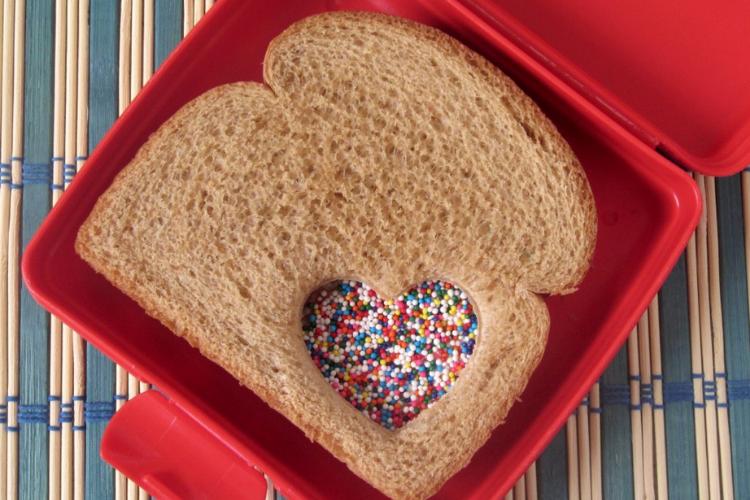 Fairy sprinkles sandwich   The Dating Divas