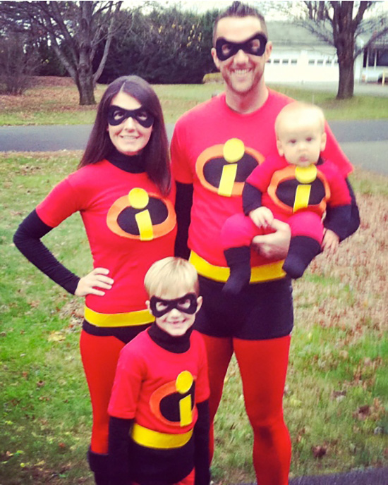 Your family is simply incredible, show it with this family costume idea. | The Dating Divas